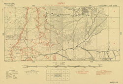 Trench maps of Suvla (provisional) 1:10 000 series (Square 105)